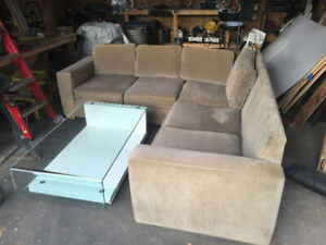 FREE Large Sectional, Good Condition