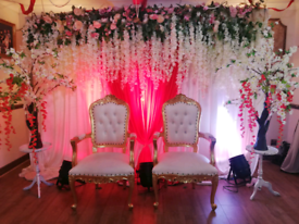 Wedding stage hire from £200