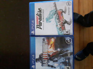 Battlefield 4 and Burnout Paradise City remastered
