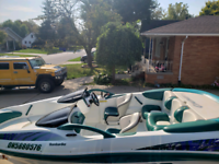 1998 Bombardier Seadoo Challenger 1800 twin rotex engine