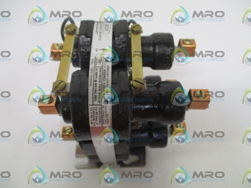 MDI 435NO-120A-18 CONTACTOR * NEW NO BOX *