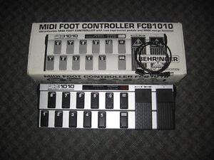 Pédalier contrôleur MIDI Behringer FCB1010