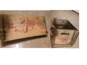 Antique Wood Crates (7 total)