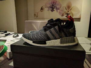Adidas NMD R1 Glitch Camo Core Black/Solid Grey size 9.5