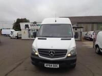 Mercedes-Benz Sprinter 3.5T High Roof Van DIESEL MANUAL WHITE (2014)