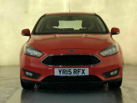 2015 FORD FOCUS ZETEC PETROL £20 ROAD TAX CD PLAYER 1 OWNER SERVICE HISTORY