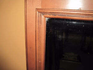 Vintage Mirror With Etching / Mirror for Dresser Kitchener / Waterloo Kitchener Area image 6
