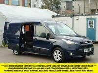 64b0859aad3f0e 2016 FORD TRANSIT CONNECT 240 TREND L2 LWB 5 SEATER COMBI CREW VAN WITH  ONLY 51