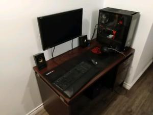 Gaming ordinateur et monitor