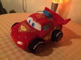 Cars - Lightning McQueen plush car