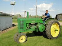 Model A John Deere Tractor