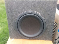 """KENWOOD 1400W (350W RMS) 12""""  Subwoofer"""