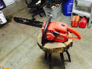 Multiple Chainsaws Available