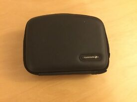 "Genuine Tom Tom Sat Nav Case For 4.3"" Screen. Hard Cover Used"