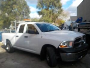 2010 DODGE  1500   4DR WITH SIGN