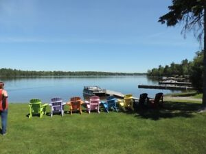 OWL'S NEST LODGE, ALBAN, ON TROUT LAKE, FRENCH RIVER AREA