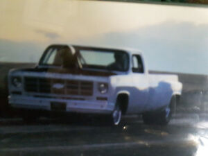 Pro street 1981 Chevy pick up truck