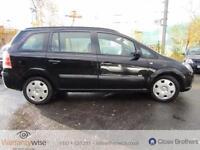 VAUXHALL ZAFIRA LIFE 16V, Black, Manual, Petrol, 2006 12 MONTHS MOT, NEW BRAKES