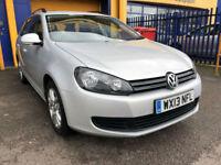 2013 Volkswagen Golf 1.6TDI SE Estate 52k Miles