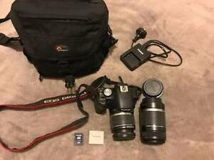 Canon DSRL (EOS 500D) Kit (incl. 2 lenses, 4GB card + carry bag!) Bondi Eastern Suburbs Preview