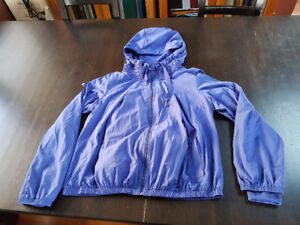 Blue Lululemon Windbreaker Jacket - Size 8