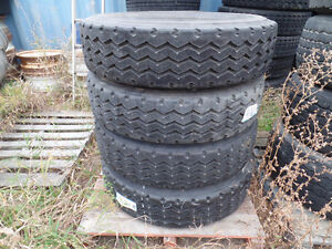 BRAND NEW MICHELIN RECAPS 275/80R22.5 x 4 AT www.knullent.com