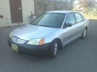 2002 Honda Civic DX Sedan