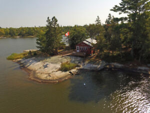 Cabin on Lake of the Woods Island, Morson