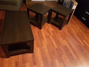 3-piece coffee tabke set $50!!