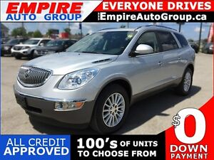 2010 BUICK ENCLAVE CXL * LEATHER * SUNROOF * REAR CAM * BLUETOOT