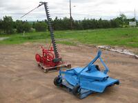"""Ford 60""""lawn mower,MF Dynabalance 7' cut sickle mower"""