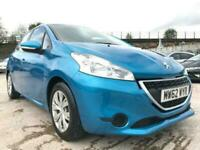 2013 62 PEUGEOT 208 1.2 ACCESS PLUS 5D BLUE+LOWINSURANCE+USB+AUX+MEDIA+SPOILER