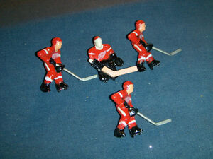 TORONTO-DETROIT-NEW YORK-NHL-LOT OF 12 HOCKEY GAME FIGURES-RARE!
