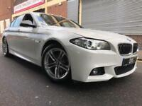 BMW 5 Series 2014 2.0 520d M Sport 4 door AUTO, 1 OWNER, SAT NAV, LEATHER, F/S/H