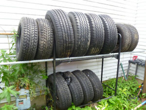 3 Sets of Tires on Rims