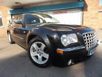 Chrysler 300C 3.0CRD V6 automatic LUX Estate Black 2009 (09)