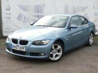 2007 BMW 3 SERIES 320D SE COUPE DIESEL FULL BMW SERVICE HISTORY 17 INCH ALLOY WH