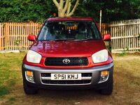 TOYOTA RAV 4 WITH LOW MILES GOOD RUNNER 1295 FREE DELIVERY
