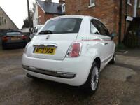 FIAT 500 1.2 Lounge 3dr [Start Stop] DRIVE AWAY TODAY! £30 A YEAR TAX!