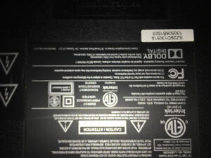 Lloyd's 28 inch tv/DVD combo for parts