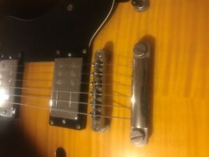 Epiphone Dot with Rail Hammer Hyper Vintage Pups