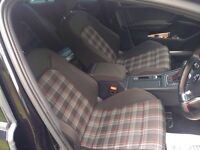 VW GOLF MK 7 GTI CLOTH SEATS COMPELTE SET