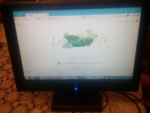"VIEWSONIC OPTIQUEST Q2162WB WIDESCREEN LCD 21.6"" MONITOR"