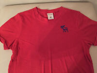 Boys Abercrombie & Fitch T-shirt red