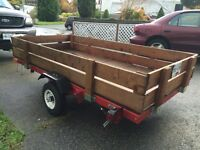 Great Deal: 2012 Foldable Utility Trailer (4 Foot x 8 Foot)