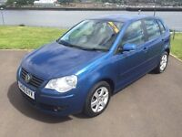 Volkswagen Polo 1.4, petrol, manual, BEST ONE AROUND BY FAR. Full m.o.t 6 months Extendable Warranty