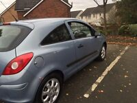 Vauxhall corsa year 2007. Low insurance please call. 07584 851002