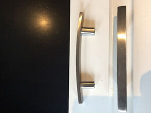 silver cabinet pulls