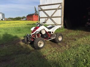 660r raptor sell or trade for skidoo/Polaris sled