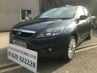 2009 09 FORD FOCUS 2.0 TITANIUM 5D 145 BHP**PX TO CLEAR**HISTORY**AUTOMATIC**